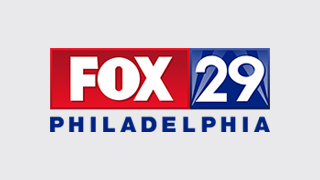 Only FOX 29 cameras were there as police combed block after block of 25th Street in South Philly Monday night after vandals spray painted anti-police graffiti up and down the busy city street.
